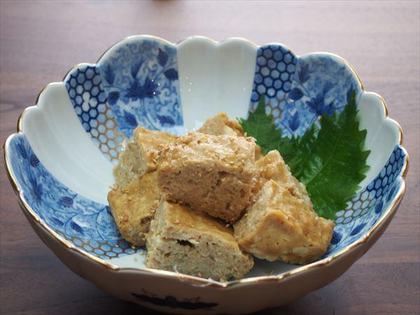 【レシピ】鶏挽肉の擬製豆腐