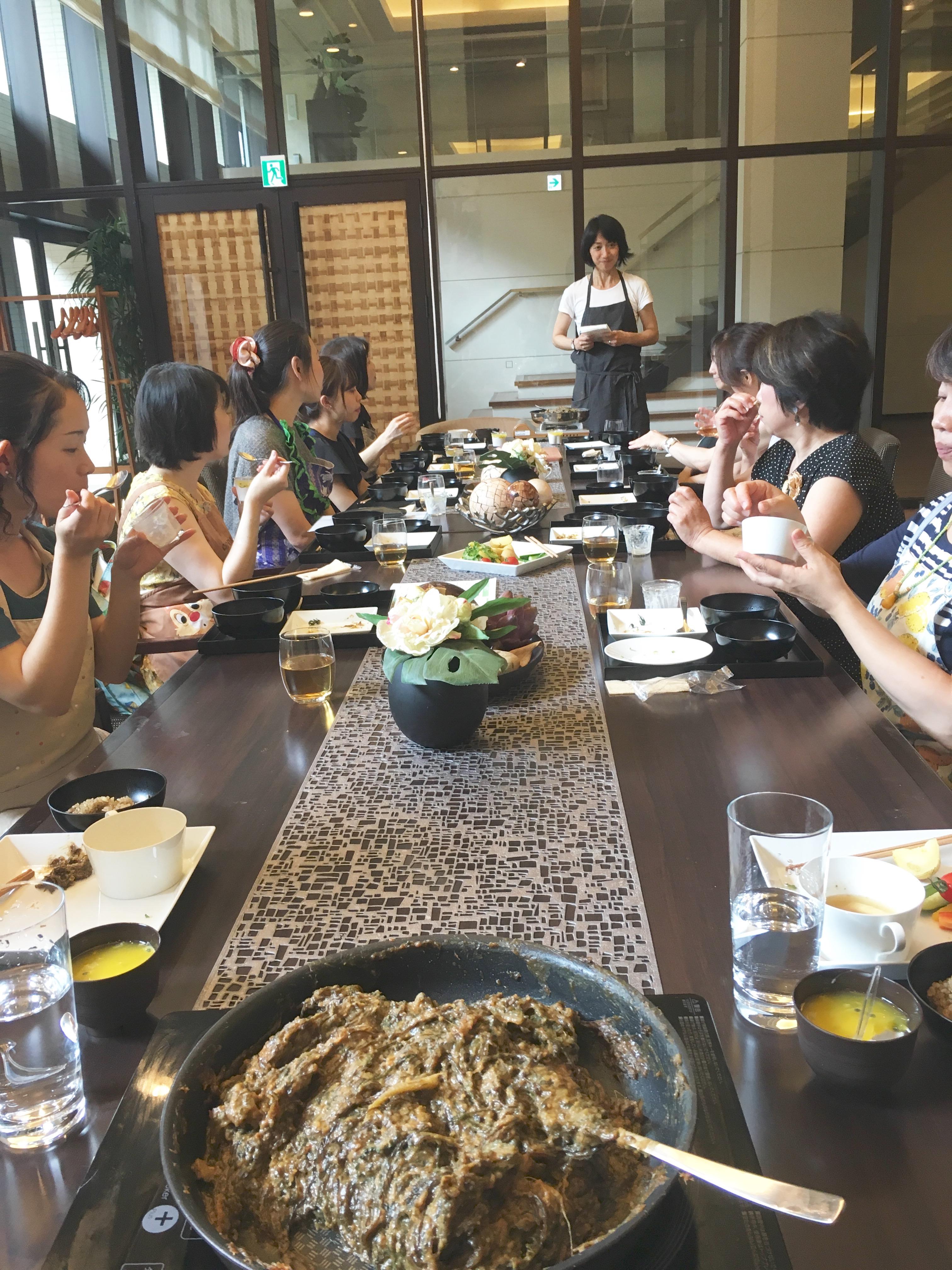 (伝統野菜研究会)-開催報告-ゴーヤーの美味しい食べ方&あぶら味噌づくり