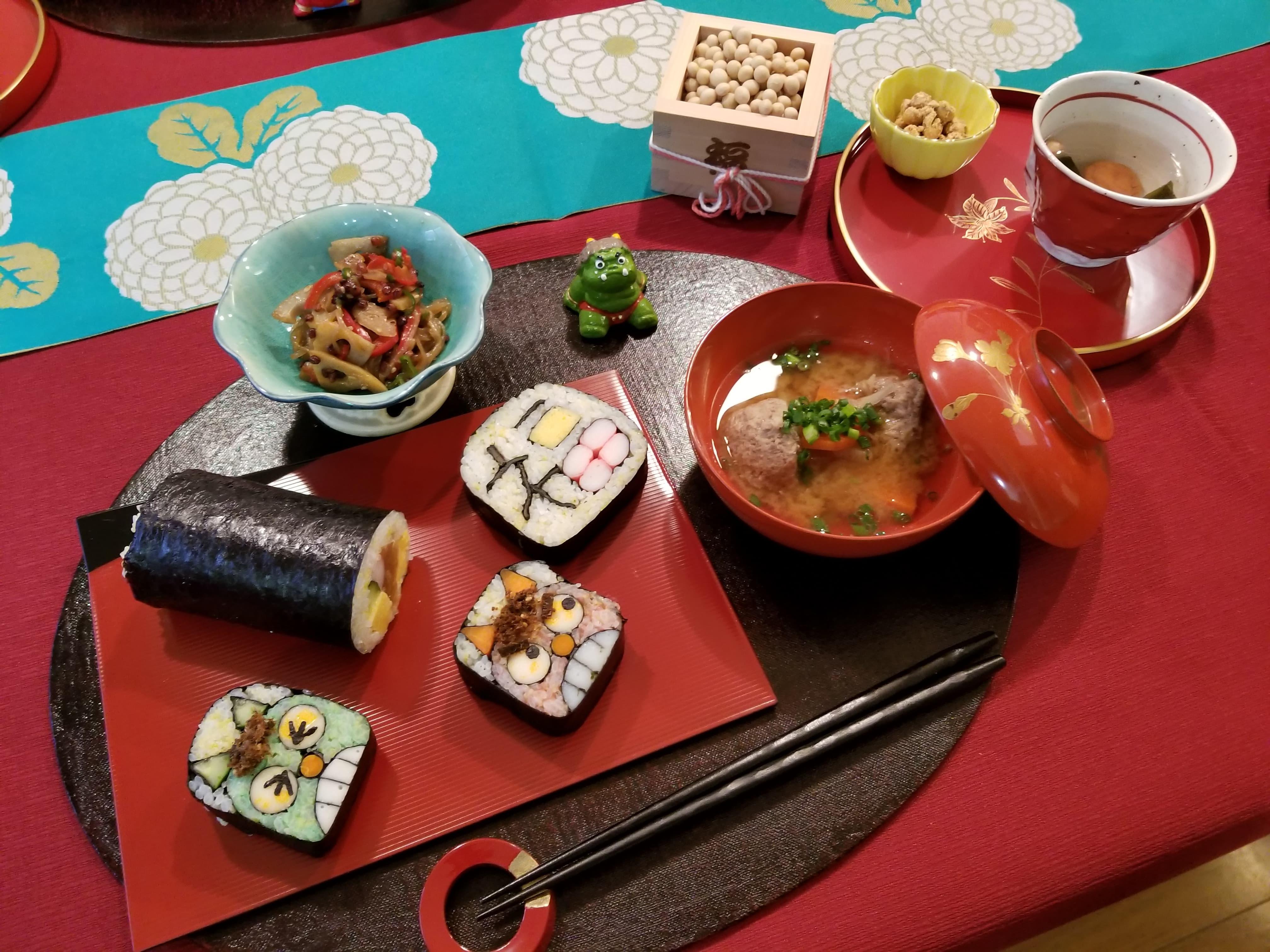 (伝統料理研究会)-開催報告-飾り巻きずし