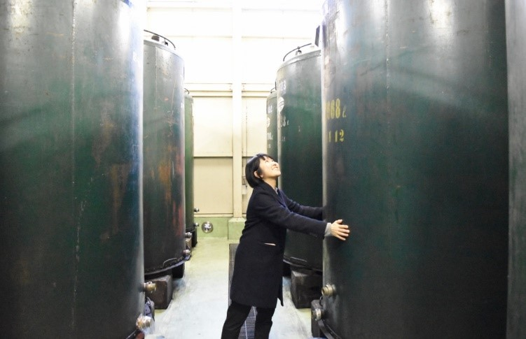 (発酵食研究会)-活動報告-(株)角谷文治郎商店「三河みりん」の蔵見学に行ってきました!